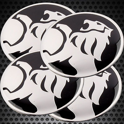 4x Car Wheel Center Caps Hub Cap Emblem Badge HOLDEN Logo 60mm for All Vehicle
