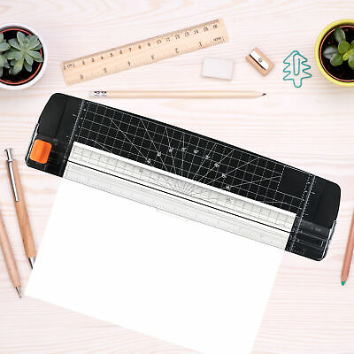 Portable Paper Cutter A4 Paper Trimmer 12 Photo Guillotine Craft Machine M6h8