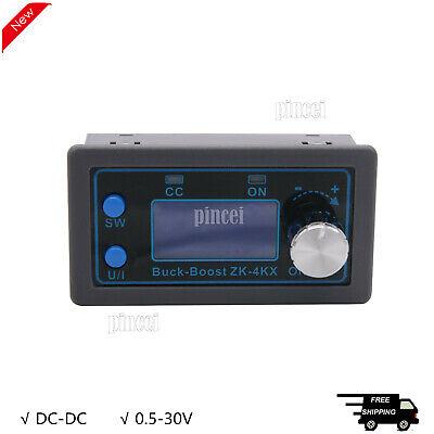 Dc-dc Buck Boost Converter Cc Cv Output 0.5-30v Adjustable Power Supply Module