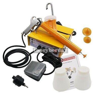 Portable Powder Coating System Paint Sprayer Gun110v220v Upgraded Easy To Use