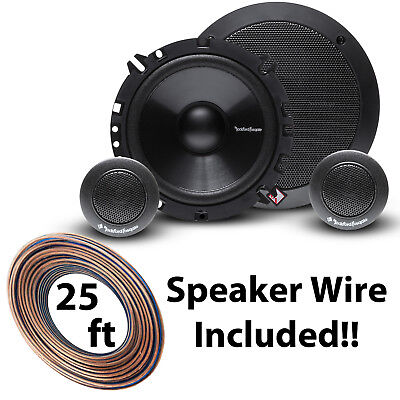 "R165-S Rockford Fosgate R1 Prime 6.5"" 2-Way Component Speaker w/ Free Accessory"
