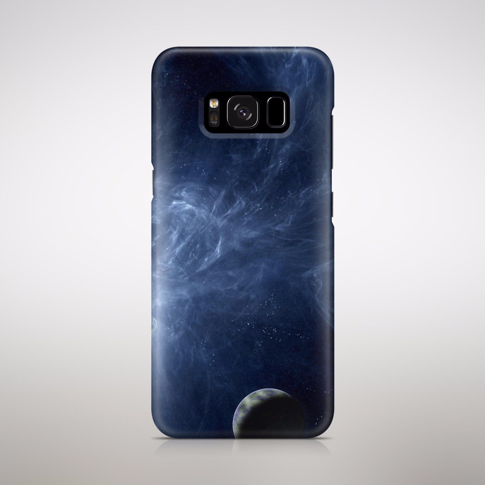 separation shoes b5a89 f2ae2 Details about Blue Galaxy Waves Planets Stars Universe Cosmos Outer Space  Phone Case Cover