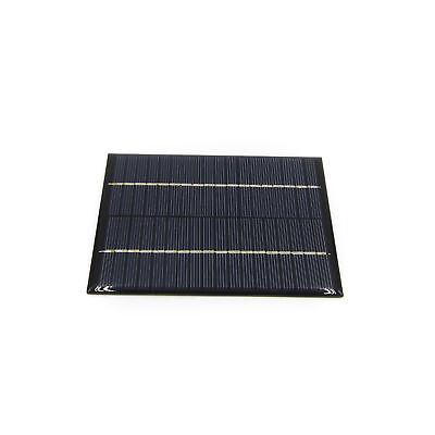Portable 2w 18v 13.6x11x0.3cm 300ma Solar Cell Battery Power Supply Panel