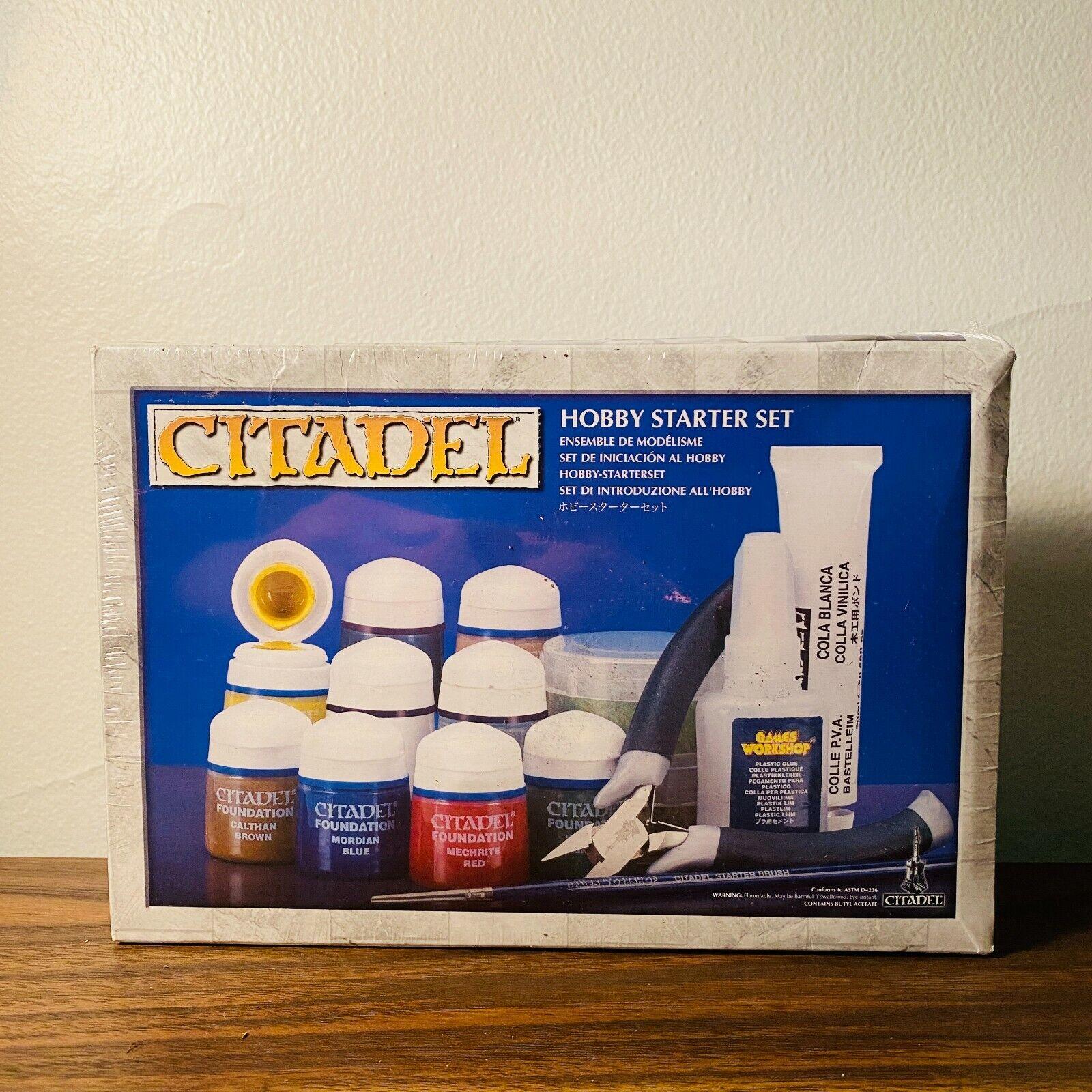 Citadel Hobby Starter Set factory Sealed Ballast, Turf, Grass, Etc - $79.99