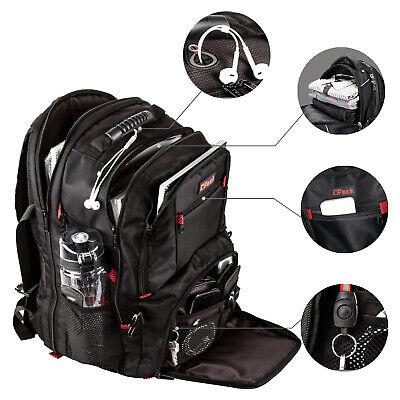 "Extra Large TSA Friendly Durable Travel Backpack Anti-Theft 17"" Laptop Bag"