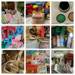 Online Garage Sale BOOKS BASKETS CDS GLASSWEAR TOYS Great Gifts Bradbury Campbelltown Area Preview