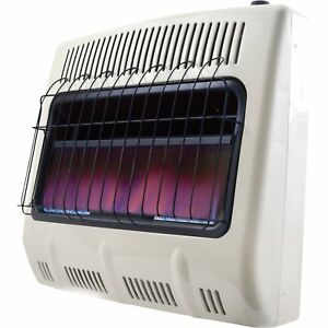 Mr Heater Natural Gas Vent Free Blue Flame Wall 30 000btu Mhvfb30ngt