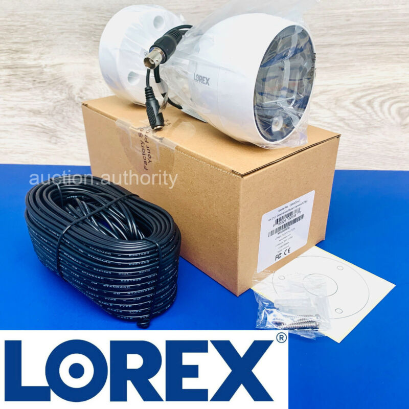 Lorex 4K Ultra HD Active Deterrence Night Vision Security Video Camera C883DA