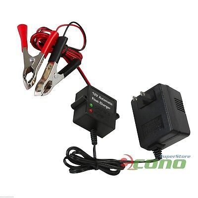 12v Ac Auto Batteries - 12V Volt Automatic Car Battery Float Trickle Charger Car, Boat. Direct AC Charge
