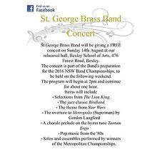 Free concert Peakhurst Hurstville Area Preview