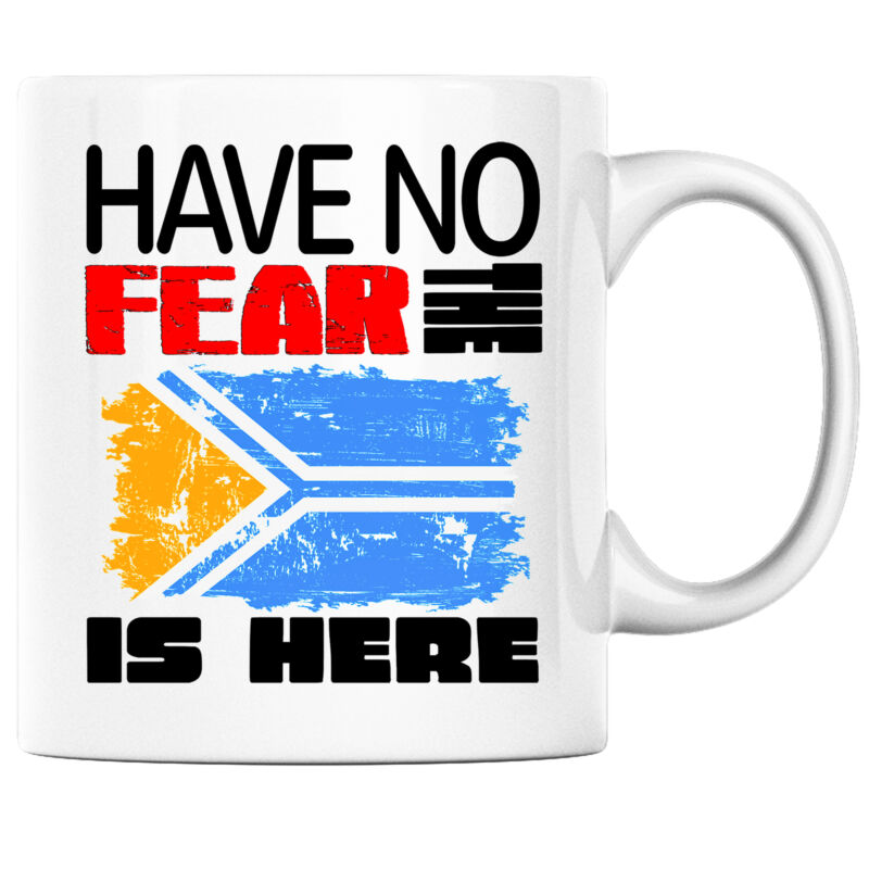Have No Fear the Tuva is Here Funny Coffee Mug Tuva Heritage Pride