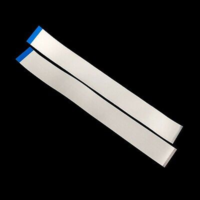2x Flat Ribbon Cable - 0.5mm Pitch - 68 Pin - 300mm Long - Reversed