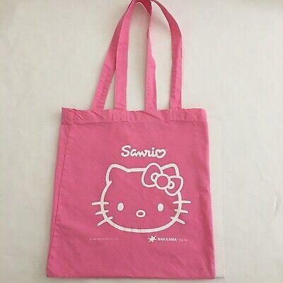 Sanrio Hello Kitty Tote Bag Nakajima Store Retailer Promo Bag 2007
