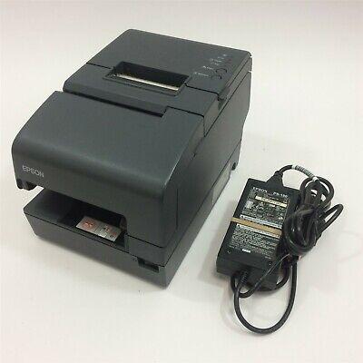 Epson Tm-h6000iv M253a Usb Plus Power Pos Thermal Receipt Printer Micr No Ribbon