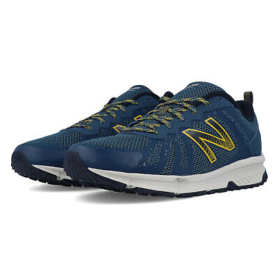 New Balance Mens 590V4 Trail Running Shoes Trainers Sneakers Blue EE