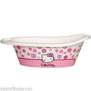 hello kitty baby bath tub for newborn 12 months anti slip babies 0 3 6 rrp 30. Black Bedroom Furniture Sets. Home Design Ideas