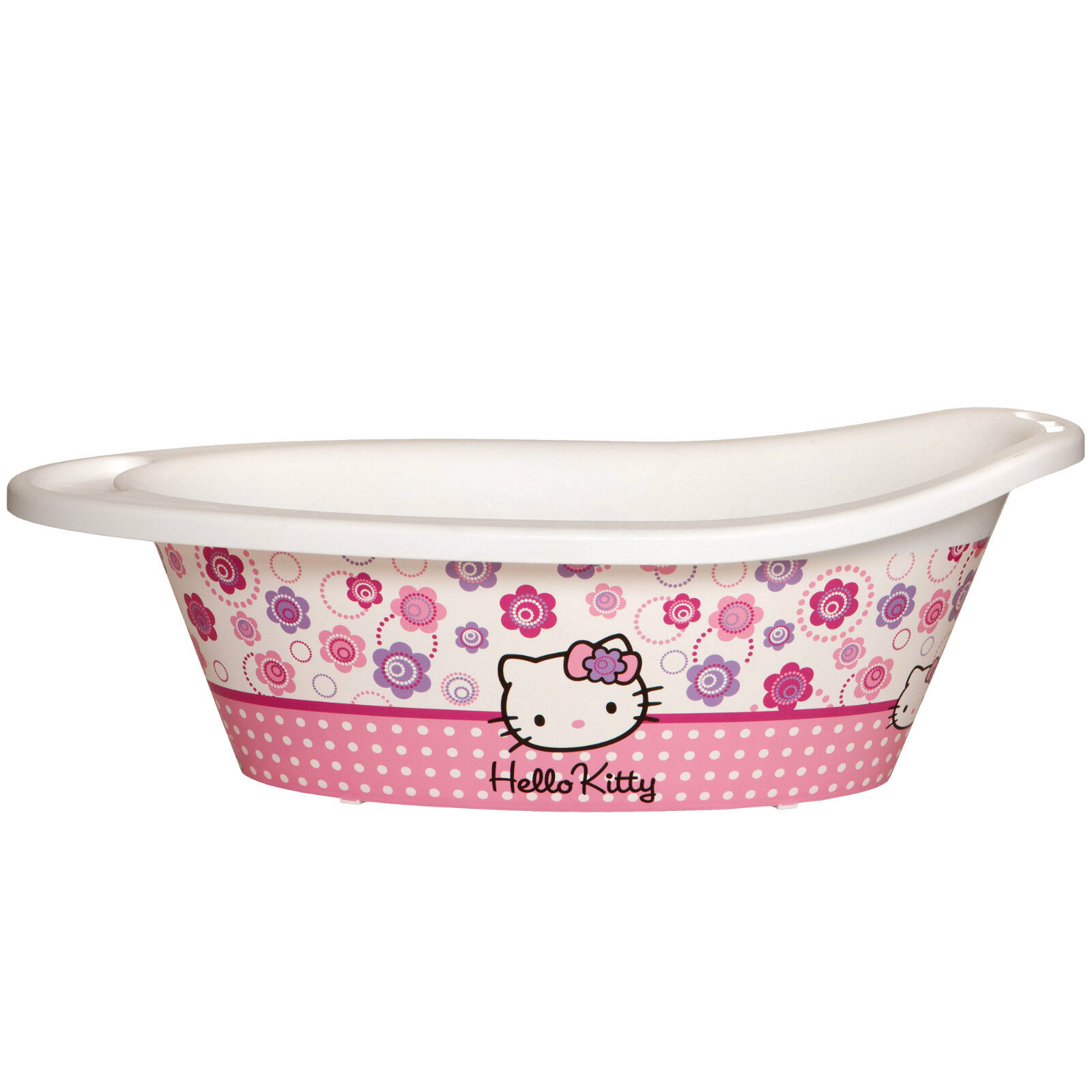 hello kitty baby bath tub for newborn 12 months anti slip babies 0 3 6 rrp 30 ebay. Black Bedroom Furniture Sets. Home Design Ideas