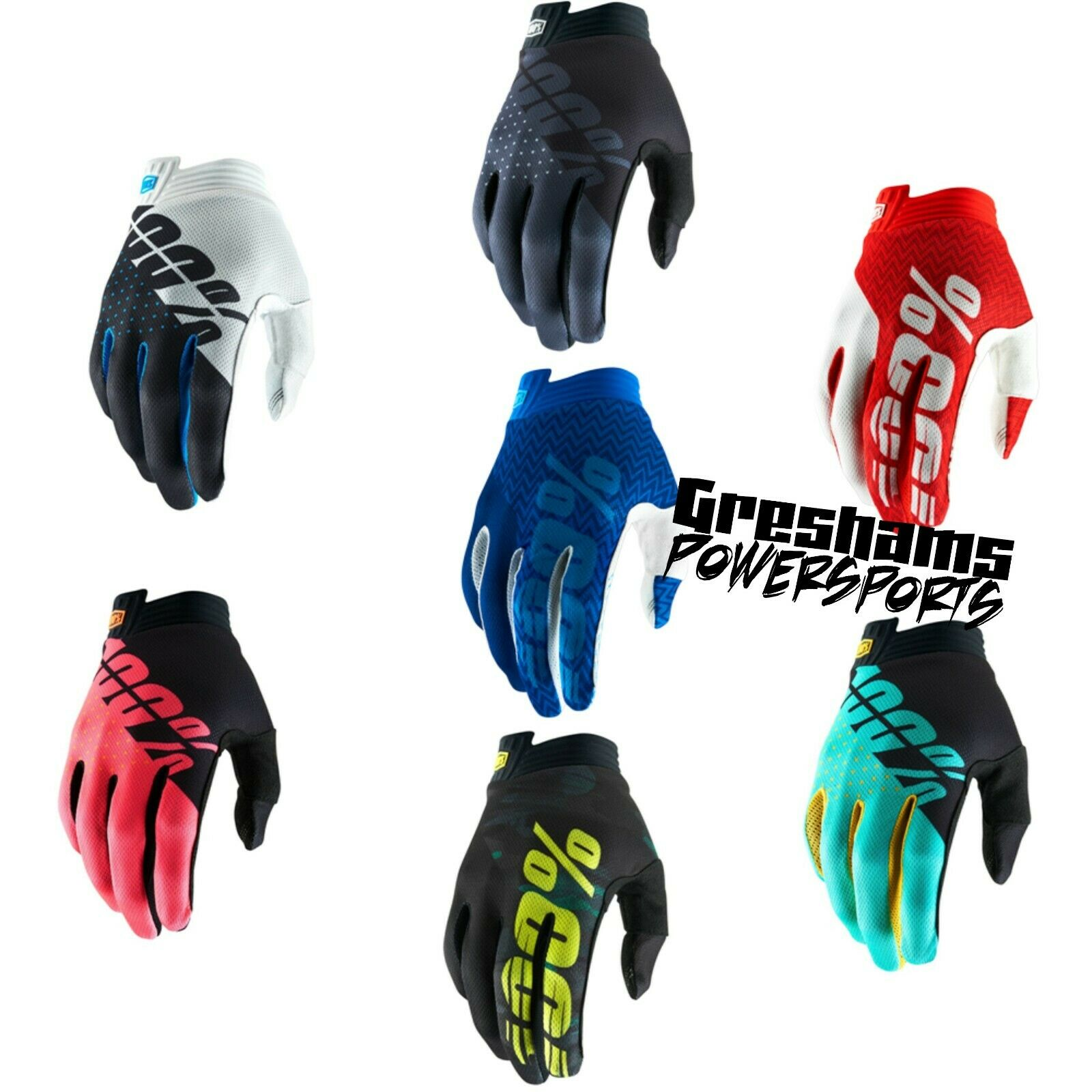 Black//Charcoal//Medium 100/% Airmatic Youth Boys Off-Road Motorcycle Gloves