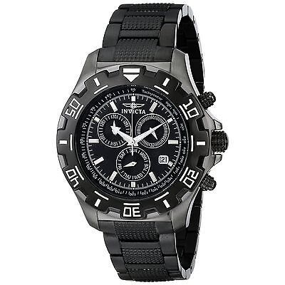 Invicta Mens Python Specialty 6412 Criminal Stainless-Steel Swiss Chronograph Sentinel