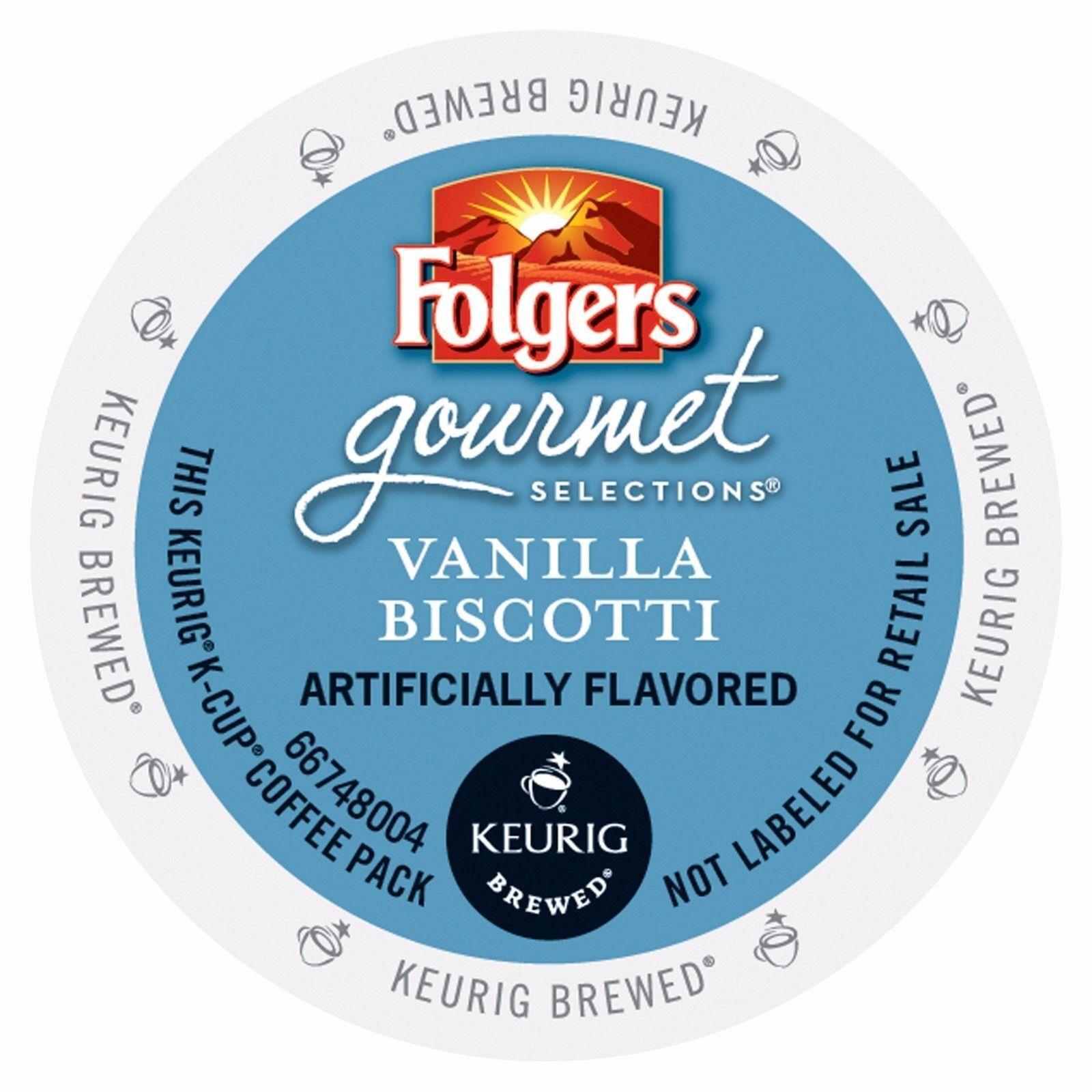 vanilla biscotti coffee 24 to 96 keurig