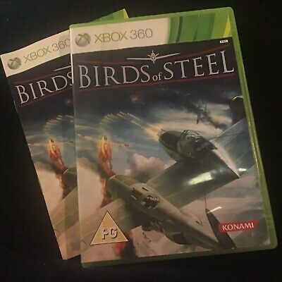 💰 SALE: Birds of Steel Xbox 360 game + manual. VGC. RARE