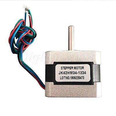 Nema 17 Bipolar Stepper Motor 0.9deg 1.33a 34mm For Industries Engraving Printer