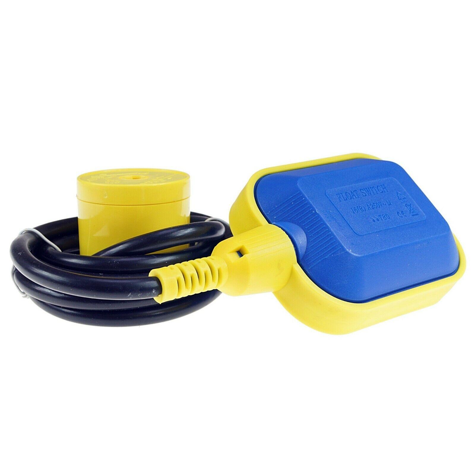 Schwimmerschalter 10m Kabel 250V Schwimmschalter Pumpe zum Befüllen Entleeren DE
