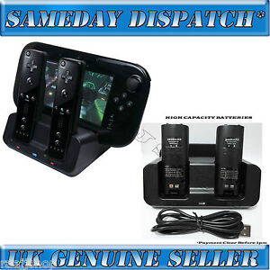 BLACK-DUAL-DOCKING-STATION-2x-BATTERIES-CABLE-FOR-WII-WII-U-REMOTE-GAMEPAD