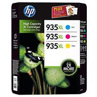 Genuine Hp 935xl C/y/m Ink Cartridges Set Of 3 Officejet Pro 6230 6830 Vat Inc - hp - ebay.co.uk