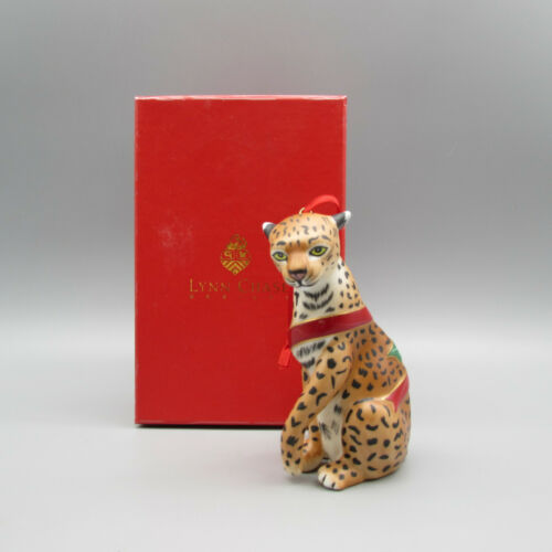 Lynn Chase Jaguar Jungle 2001 First Edition Christmas Ornament