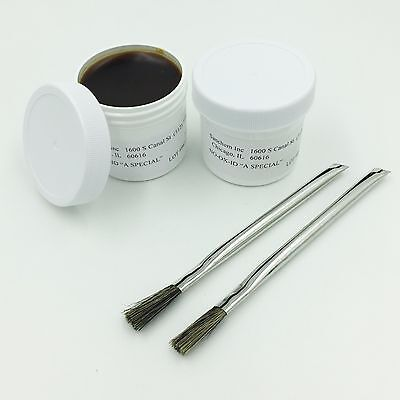 No-ox-id Conductive Electrical Contact Grease Anti Corrosion Two 2-ounce Tubs