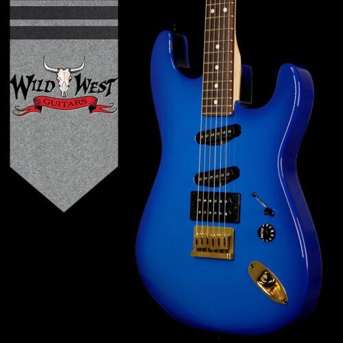 Charvel Usa Jake E Lee Signature Blue Burst Hss Rosewood Fretboard Blue Burst
