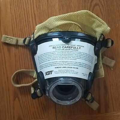 New - Scott Av-2000 Facepiece Firefighter Scba Mask Size Large