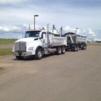 Looking for Class 1 Gravel Truck Drivers