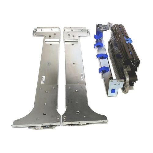 Dell PowerEdge 6850 6950 R900 R905 Versa Rail Rack Rails CMA & Tray H7738 M7293