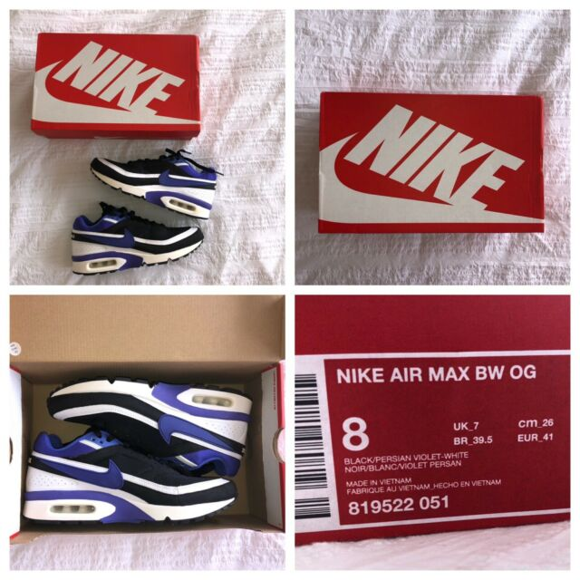 online store a324a fd3dc Nike Air Max BW Persian US8