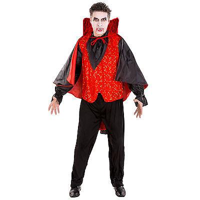 ostüm Kostüm Karneval Fasching Halloween Vampir Herren  (Graf Dracula Kostüm)