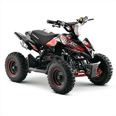 FunBikes Toxic 50cc Red Kids Petrol Mini Quad Bike