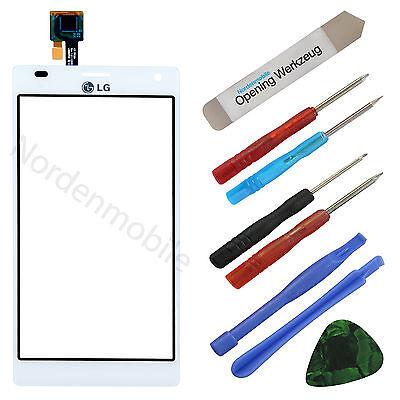 LG Optimus P880 4X HD Touchscreen Glas Display Digitizer Weiss + Klebefolie online kaufen