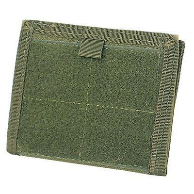 Condor Tactical MOLLE Admin ID Holder Panel Zipper Pocket Pouch Wallet OD Green