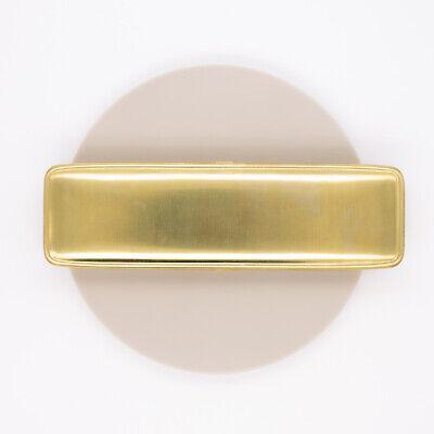 Traveler's Company Brass Pencil Case Pen Holder Brass