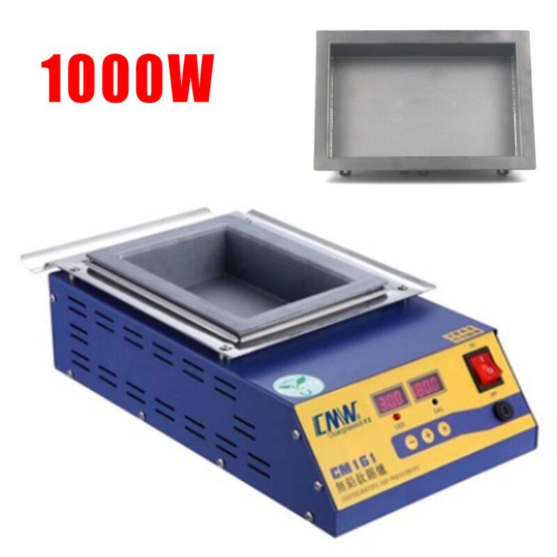 Lead-Free Titanium Solder Soldering Pot Desoldering Bath 1000W CM-161BD-CA 110V