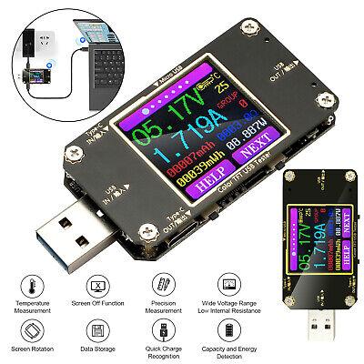 usb lcd digital power meter voltage capacity