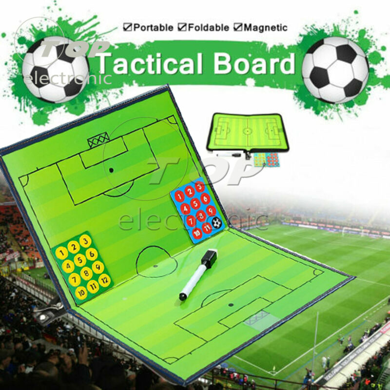 1PCS Magnetic Football Tactics Board Coaching Tactic Training Board 27x20.5cm