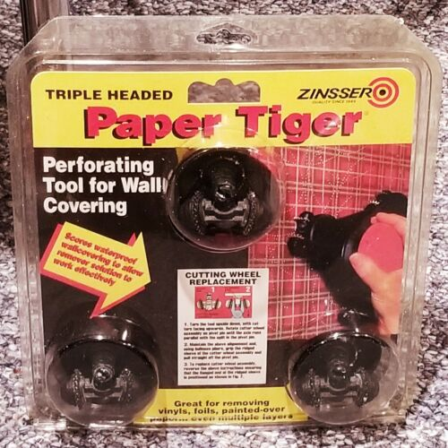 Zinsser Paper Tiger Removes Wall Paper Scoring Tool ~ NEW & FACTORY SEALED