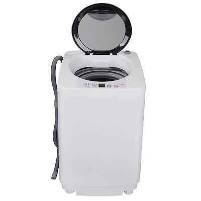 Compendious Full-Automatic Washing Machine Laundry Washer Spin with Drain Pump
