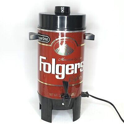 Folgers Coffee Thermal Brewer Dispenser Server 32 Oz
