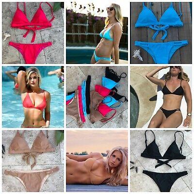 Key Swimwear Womens Eco Friendly Bikini Swimsuit Bathing Suit Bra Top (Eco Friendly Bikinis)