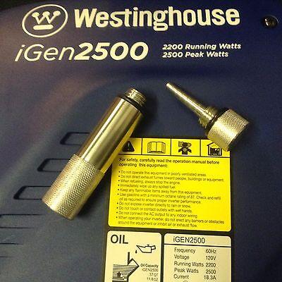 Westinghouse Igen 2500 Inverter Generator Oil Fill Tube Mag Dipstick Combo Usa