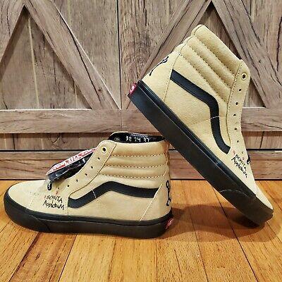 """Vans Sk8-Hi """"A Tribe Called Quest - Bonita Applebaum"""" Skate Shoes - Mens Sz 9"""